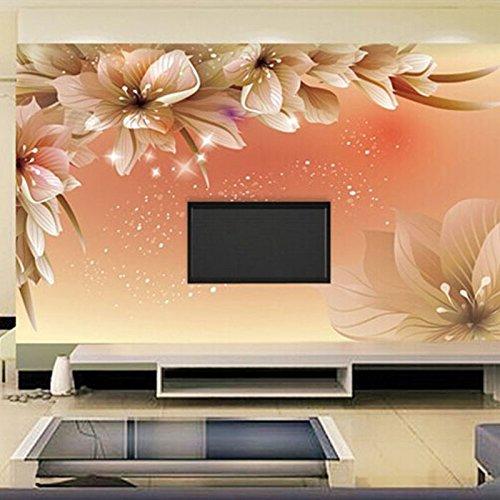 custom 3d fototapete moderne blume wandbild tapete wohnzimmer sofa tv hintergrund vlies tapete. Black Bedroom Furniture Sets. Home Design Ideas