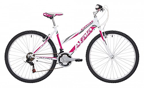 "Mountain bike da donna Atala Sunrise 2017 18V 26"" bianco/fuxia"