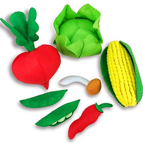 Leckereien Nähen Handwerk Kit Obst und Gemüse für Mädchen zum Nähen und Sachen DIY (Stil F) ()