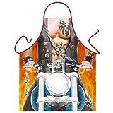 Grillschürze - Sexy Biker mit Tattoos