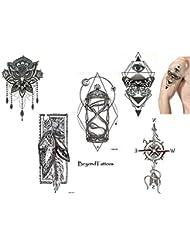 Amazon Fr Boussole Tatouages Temporaires Corps Beaute Et Parfum