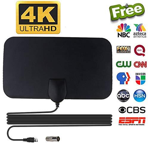 CRZJ TV Antenne HD, HDTV-Antenne Digital-TV-Antenne, Ausgezeichnete Leistung, Die Antenne ist 3,7 Meter lang.