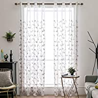 Due tende con fiori - Tende classiche e drappeggi ... - Amazon.it