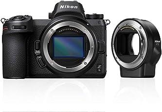 Nikon Z6 System Digitalkamera mit FTZ-Bajonettadapter