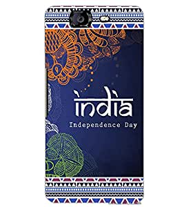 MICROMAX A350 CANVAS KNIGHT INDIA Back Cover by PRINTSWAG