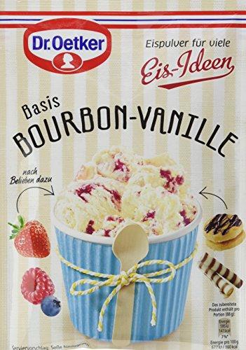 Vanilla Creme Cookies (Dr. Oetker Eispulver Bourbon-Vanille, 18er Pack (18 x 102 g))