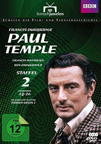 Bild von Francis Durbridge: Paul Temple - Staffel 2 - Die komplette ZDF-Fernseh-Saison 2 (Folgen 14-26) - Fernsehjuwelen [4 DVDs]