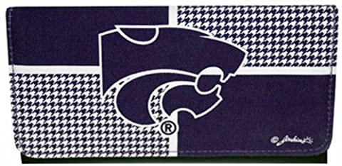 NCAA Kansas State Wildcats Ladies Color Block Wallet by Game Day Outfitters