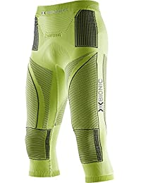 X-Bionic Energy Accumulator Collant 3/4 Homme Anthracite/Vert