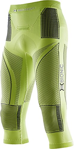 X-Bionic Erwachsene Funktionsbekleidung Man Acc Evo UW Pants Medium, Green Lime/Charcoal, XXL, I020241