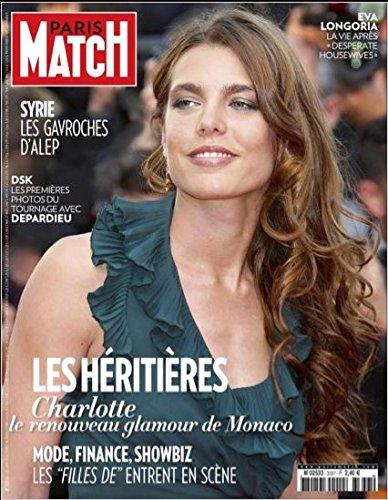 Paris Match n° 3337 du 2 Mai 2013 - Charlotte Casiraghi, Ara Aprikian l'ingénieur de D8, Sheryl Sandberg, Eva Longoria, Style Simon Baker