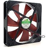 Ventilador de refrigeración, bobogo mejor Silent PC caso Silencioso de 140mm ventiladores de refrigeración 14cm DC 12V 4d enchufe ordenador Cooler