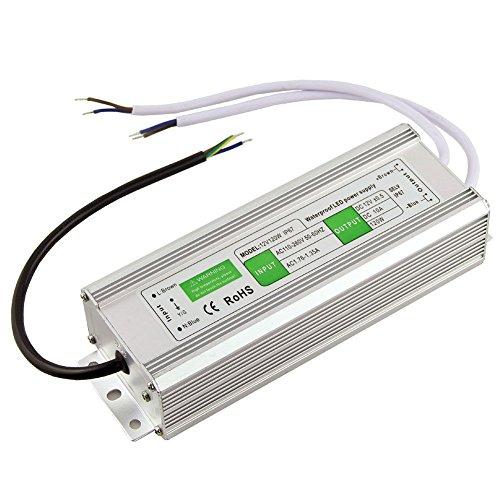 LED Trafo DC24V AC 110-250V Input Netzteil 120W Wasserdicht IP67 Treiber in Aluminiumlegierung geeignet für LED Strip Beleuchtung, LED Modul und Outdoor