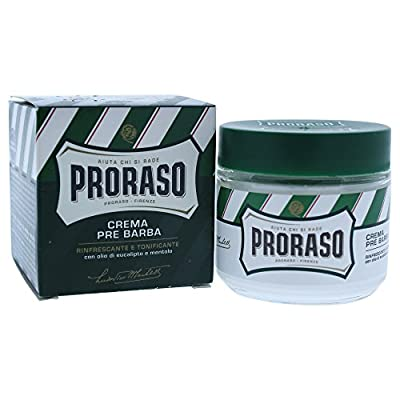 PRORASO Pre Shave Cream, 100 ml, Green