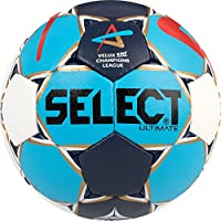 Select Ultimate Hombre Cl Men de Balonmano, Todo el Año, Color Blau Navy Rot Gold, Tamaño 3