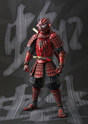 BANDAI MEISHO Manga Realization Samurai Spider Man Action Figure 5