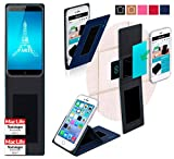 reboon Hülle für Ulefone Paris Tasche Cover Case Bumper | Blau | Testsieger