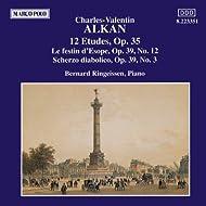Alkan: 12 Etudes, Op. 35 / Scherzo Diabolico, Op. 39, No. 3