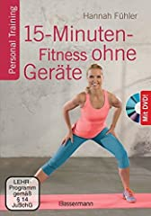15-Minuten-Fitness ohne Geräte   DVD