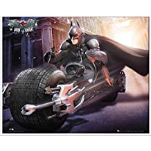 Póster Batman The Dark Knight Rises Bike (Incluye Artículo adicional)
