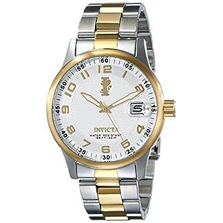 Invicta 15260 I-Force Reloj para Hombre acero inoxidable Cuarzo Esfera plata