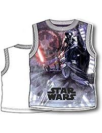 Star Wars Camiseta de tirantes camiseta sin manga Full Print–Niño–, novedad, producto original 8231pe