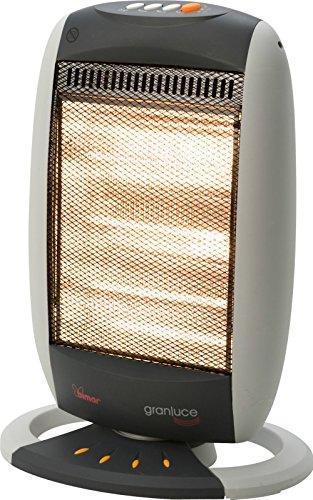 Bimar chauffage radiateur halogène Grande lumière art. S212 ; 230 V ~ 50 Hz 1200 W