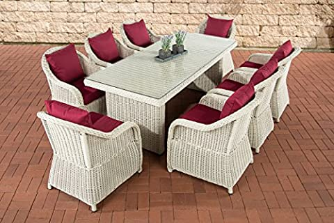 Assise Group Lavello XL Rouge rubis Perlwhite