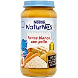 Nestlé Naturnes Arroz Blanco con Pollo a Partir de 6 Meses - 250 g