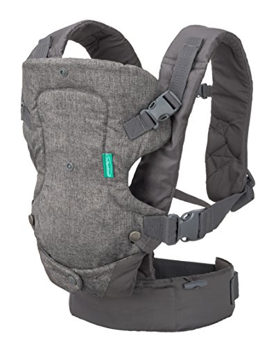 Infantino 4-In-1 Convertible Carrier - Light Grey