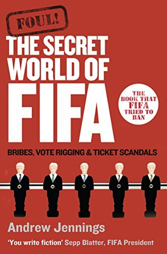 Portada del libro Foul!: The Secret World of Fifa: Bribes, Vote Rigging and Ticket Scandals by Andrew Jennings (2008-11-01)