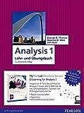 Analysis 1: Mathematik für Natur- und Wirtschaftswissenschaftler und Ingenieure inkl. E-Learning MyMathLab Deutsche Version und E-Text (Pearson Studium - Mathematik)