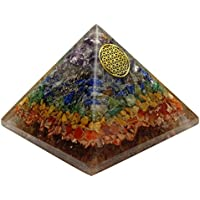 Harmonize Multistone Pyramide Blume des Lebens Symbol Reiki Kristall Energie Generator Orgon preisvergleich bei billige-tabletten.eu