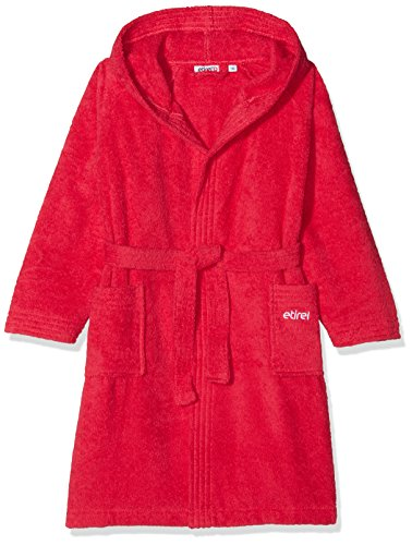 etirel Jungen Felix Bademantel, Raspberry, 116 -