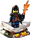THE LEGO® NINJAGO® MOVIE™ 71019 Minifigur Shark Army Great White mit 1x GALAXYARMS Saigabel und 1x Katana in Gold (Shark Army Great White)