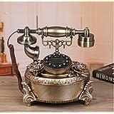 Europeo–estilo salón hogar decoración Feng Shui Adornos teléfono tecnología teléfono fijo apertura Regalos