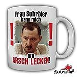 Tasse Frau Suhrbier kann mich am ARSCH LECKEN ! Alfred Tetzlaff Ein Herz und eine Seele Alfred Kult Spruch Zitat Kaffee Becher - Tasse Kaffee Becher #13595