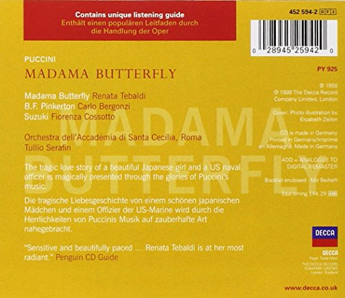 """Puccini : Madama Butterfly (""""Madame Butterfly"""")"""