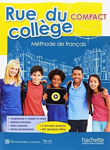 Rue du college compact. Openbook-Livre & cahier-Extrakit. Per la Scuola media. Con espansione online.