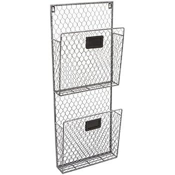 Amazon.de: IKEA KVISSLE Zeitungshalter für die Wand; in weiß