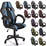 Bring motorsport directly into your home or office. This elegant and comfortable swivel chair with padded armrests and height adjustable seat, a new sense of well being in your workplace. The 10 different colors became an eye-catcher. - Integrated he...