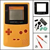 Ersatz Full Gehäuse Shell Schutzhülle für Nintendo Gameboy Color GBC, gelb