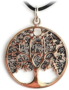 etNox by ECHT - Lebensbaum - Anhänger - Bronze/versilbert