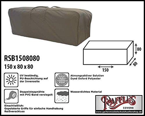 Raffles Covers RSB1508080 Kissentasche für Loungemöbelauflagen Aufbewahrungstasche/Cover für...