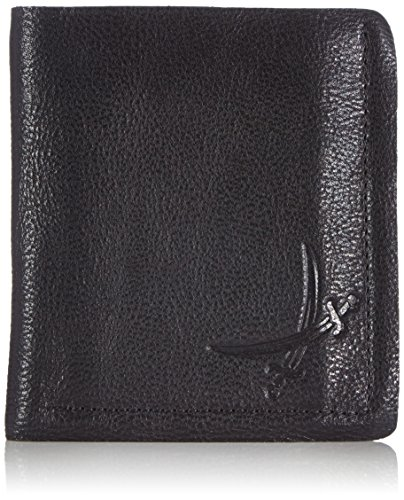 Sansibar Yamo B-760 YM 01 Unisex-Erwachsene Geldbörsen 11x12x2 cm (B x H x T) Schwarz (Black)