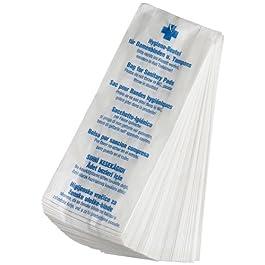Funny AG-942 Sacchetti Igienici per Fasce Igieniche, Bianco, 1000 Pezzi (10 x 100 sacchetti)