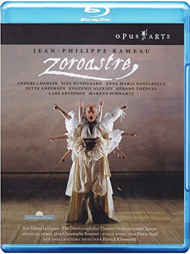 Jean-Philippe Rameau - Zoroastre / Dahlin, Bundgaad, Panzarella, Andersen, Alexiev, Theruel, Les Talens Lyriques, Rousset (Drottningholm Theatre 2006) [Blu-ray] [Import anglais]