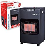 Marko Heating Calor Gas Heater High Quality LPG Portable Cabinet Butane Fire+ Regulator