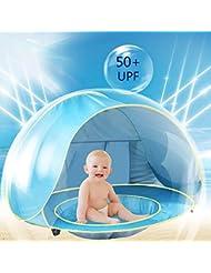 Tienda de campaña de playa bebé anti UV Pop-up para niños pilable y portátil & # xFF0C; Ideal para playa jardín