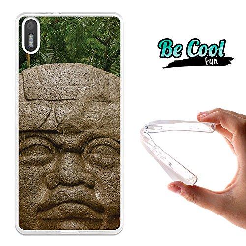 Becool® Fun - Funda Gel Flexible para Bq Aquaris X5 .Carcasa TPU fabricada con la mejor Silicona , protege y se adapta a la perfección a tu Smartphone y con nuestro diseño Tolteca
